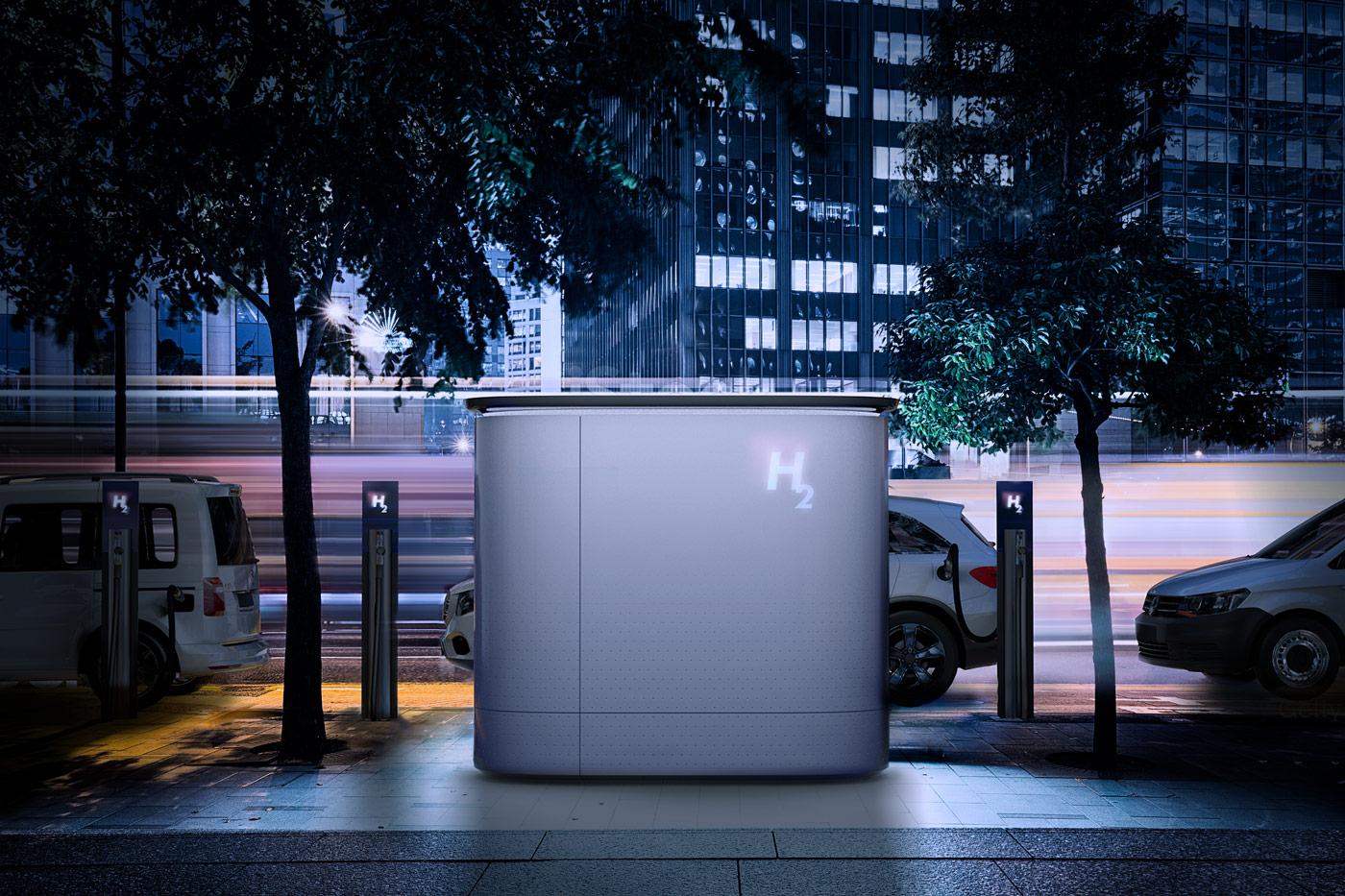 Hydrogen Fuel Dispenser city