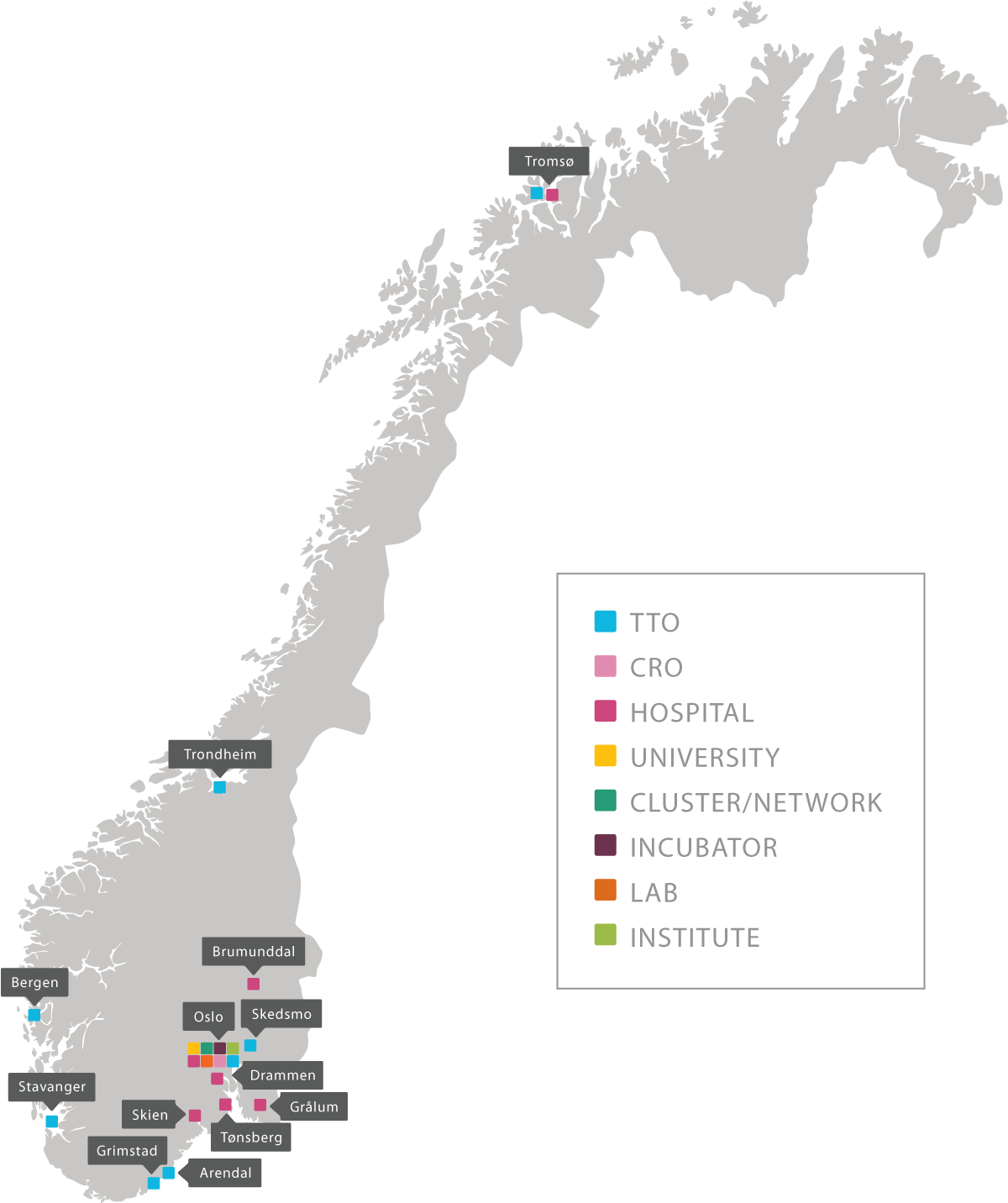 Inven2 Økosystem norgeskart